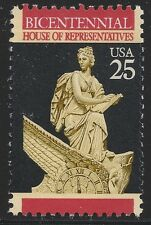 US Scott #2412, Single 1989 House of Representatives 25c VF MNH