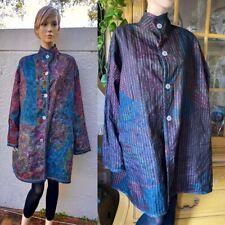 Vintage Koos Van Den Akker Art Collage Patchwork Reversible Jacket Coat Nwot