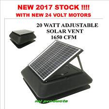 solar roof vent/exhaust fan/ventilator/extractor/ventilation 20 watt solar panel