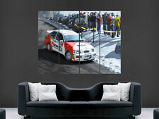 FORD RS 500 COSWORTH RALLY AUTO SPORT POSTER WALL ART PICTURE PRINT GRANDE ENORME
