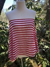 NWT Michael Kors Cruise Red Blaze Cover Up