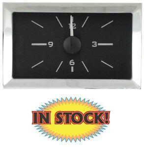 Dakota VLC-57C-K-W - 1957 Chevy Analog Clock for VHX Gauges Only - Black/White