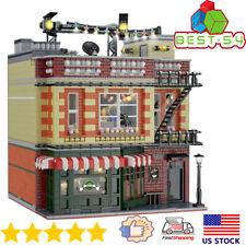 Building Blocks Expert Creator Moc Sets 10189 Friends Apartment Toys Big Model