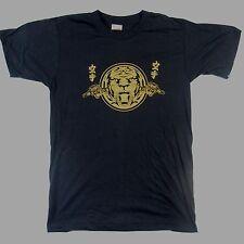 VINTAGE SCREEN STARS: Lion Tiger Asian T-Shirt 50/50 Medium Deadstock