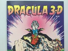 3-D Zone 1992 Dracula 3-D Both Glasses Attached Chuck Roblin NM