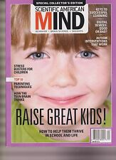 SCIENTIFIC AMERICAN MAGAZINE SPECIAL COLLECTOR EDITION 2016, RAISE GREAT KIDS!.