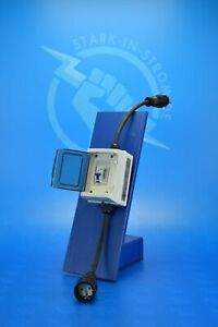 Zwischenzähler Adapter 230V - Schuko / Rollenzählwerk und FI-Schutzschalter