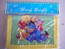 Shiny Bright Winnie the Pooh Childrens Wallet Yellow