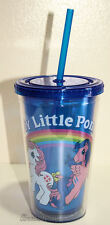 My Little Pony Brony Ponies 16oz Cold Cup Bottle Straw Tumbler GRANDE BPA FREE