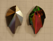 SWAROVSKI® STRASS Component 8805-45x28 mm.Peacok Raro senza logo Pendente Foglia