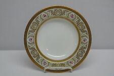 CAULDON L5520 Rimmed Soup Bowl, Floral and Gold