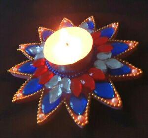 Diwali Decor Home Decor Wedding Manavarai Decor Tealight Candle Floating Holder