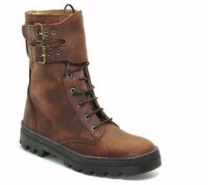 307 Leder  Boots Stiefelette Schnürschuhe Trapper Worker Country  Palladium 39