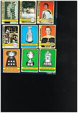 1972-73 Topps Hockey Cards complete or partial team sets  Group 1  Your Choice!