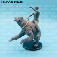 LZModel F35025 1/35 Resin Figure Russian President Vladimir Putin Riding Bear