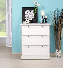 Kommode Landwood II, Anrichte, Sideboard, Wohnzimmerschrank, Landhausstil Weiß