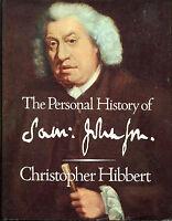 The Personal History of Samuel Johnson by Christopher Hibbert-UK 1st Ed./DJ-1971