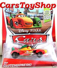 Disney Pixar Cars RIP CLUTCHGONESKI WGP Racer F1 Race Toy New Diecast