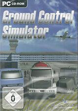 PC CD-ROM + Ground Control Simulator + Flughafen + Flugzeuge + Crew + Win 7
