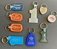 9 Vintage Keychains, Montana Banks  - Lot 111