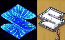 3D LED Car Tail Logo Blue Light for Suzuki Swifi Alto Jimmy Auto Badge Light