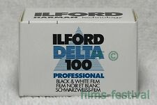 10 rolls ILFORD Delta 100 Professional 135 Film 35mm 36exp B&W