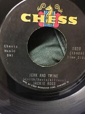 JACKIE ROSS: 45 Record Northern Soul New Lover / Jerk And Twine Excellent