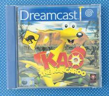 Kao The Kangaroo (Sega Dreamcast, 2000, Keep Case)