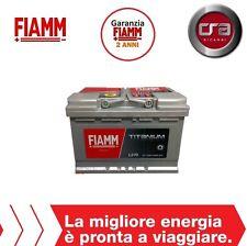 BATTERIA AUTO FIAMM TITANIUM PRO L370P 70AH 640A FIAT STILO 1.9 JTD (MJT)(WAGON)