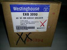 WESTINGHOUSE/FPE EHB3090 NEW IN BOX 3P 90A 480V BREAKER #B21