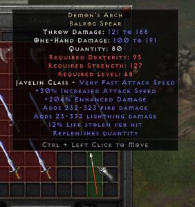 Diablo 2: ResurrectedDemon's Arch 💥 Softcore D2R Items 💥 PC