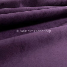 10 Metres Of Luxurious Plump Chenille Invitingly Soft Upholstery Fabrics Purple