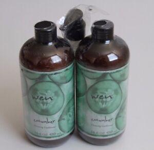 Wen by Chaz Dean Wen Cleansing Conditioner 2 Bottles / Set with a Pump 16 fl oz