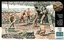 Masterbox 1:35 scale WW2 American US Artillery Crew
