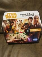 Star Wars Han Solo Card Game (NEW SEALED) 2017 Hasbro Disney