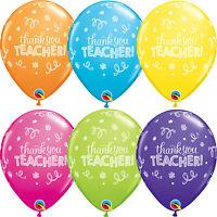 Thank You - Teacher latex & aluminium Ballons (Qualatex) FÊTE / décoration