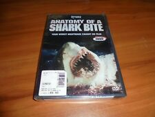 Anatomy of a Shark Bite (DVD, Full Frame 2005) Discovery Channel Shark Week NEW
