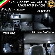 KIT LED INTERNI SPECIFICO PER RANGE ROVER EVOQUE KIT COMPLETO + ALETTE PARASOLE