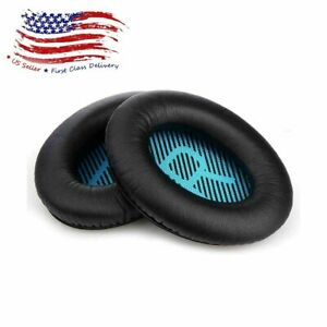 Replacement Ear Pads for Bose Headphone QC15 & QC25 Quiet Comfort Leather EarPad