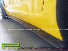 ZR1 Style Carbon Fiber Side Skirts Lip For 2005-2013 Chevy Corvette C6 Z06 ZR1