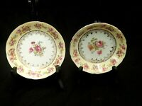 SET OF 7 SHABBY CHIC HOSTESS/GOLD CASTLE CHINA PATTERN SMALL BOWLS MADE IN JAPAN