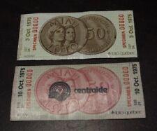 Lottery Mini lotto Specimen 1975 ticket Loto Quebec