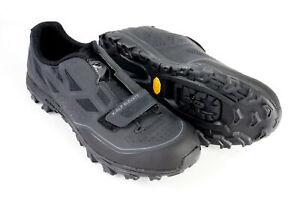 Pearl Izumi Men's X-Alp Elevate MTB Shoes Size 13 US 48 EUR Black 2 Bolt SPD BOA