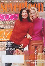 CARLY POPE & LESLIE BIBB November 2000 SEVENTEEN Magazine