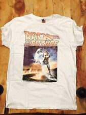New Discontinued Men's Junk Food Back To The Future Tee, Ivory, M, Made In USA