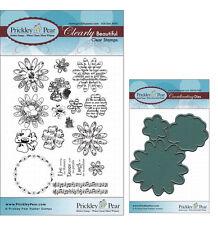 Prickley Pear Flower Clear Stamp and Die Set # 1