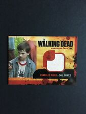 Walking Dead Season 1 M4  Carl Grimes Costume Wardrobe Trading Card
