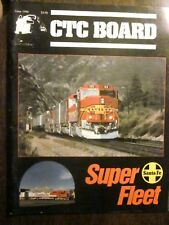 CTC Board Railroads Illustrated #167 June 1990 (Very Good) Santa Fe Super Fleet