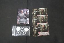 Star Wars Card Game Q1 2017 PROMO Set 1x Colonel Yularen 3x Shield Generator