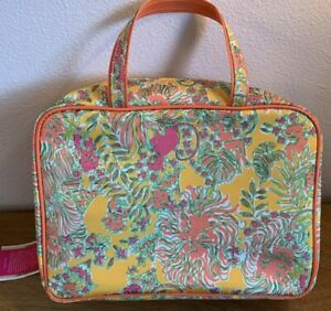 NEW Lilly Pulitzer Cosmetic Makeup Bag- Happy Place